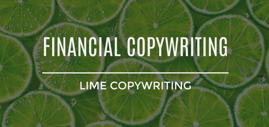 Financial Copywriting Services
