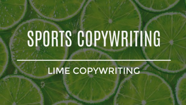 Sports Copywriting Services