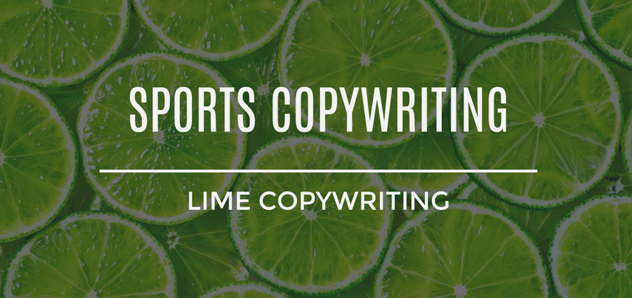 Sports Copywriting Services